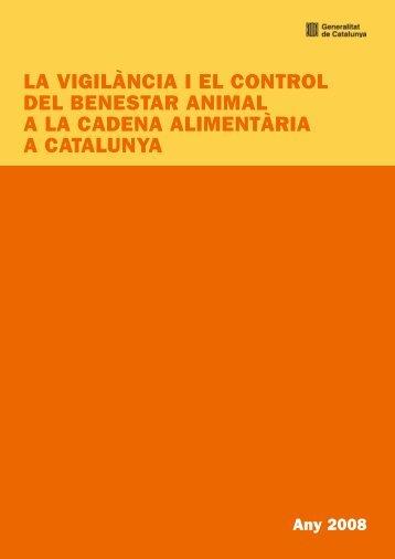 la vigilància i el control del benestar animal - Generalitat de Catalunya