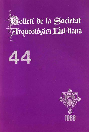 f - Biblioteca Digital de les Illes Balears - Universitat de les Illes ...