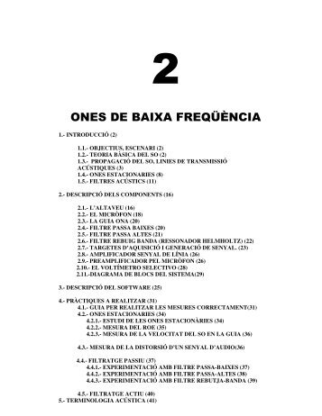 ONES DE BAIXA FREQÜÈNCIA - La Salle