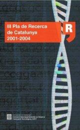 Pla de recerca CAT 200 - Generalitat de Catalunya