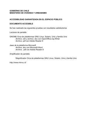 Accesibilidad Garantizada (Documento accesible) (pdf, 889 kb)