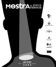 Catàleg 2002 format PDF - Mostra de Teatre d'Alcoi