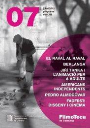 Programa 05 - Juliol 2012 - Filmoteca de Catalunya