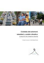 Ciudades del automovil, obesidad y cambio climatico: - BVSDE ...