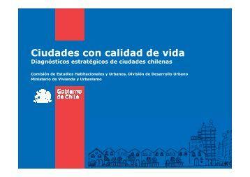 Ciudades con calidad de vida - Asociación Chilena de ...