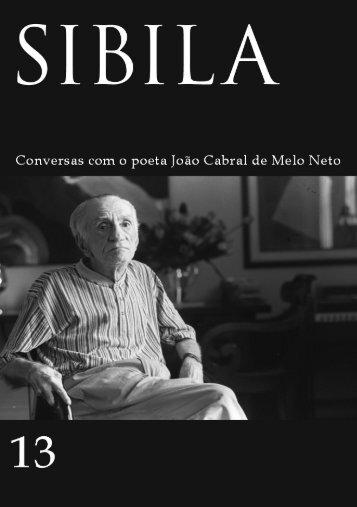 Entrevista de João Cabral em Sibila 13