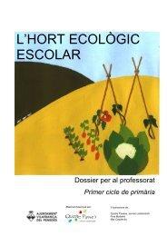 l'hort ecològic escolar - Ajuntament de Vilafranca del Penedès
