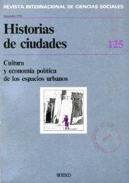 Historias de ciudades: cultura y economía ... - unesdoc - Unesco