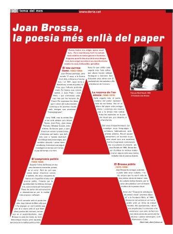 Joan brossa, la poesia més enllà del paper - Albert Lladó