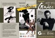Semana Antonio Gades - Ayuntamiento de Getafe