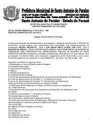 secretaria municipal de administração comissão permanente de ...