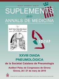 ANNALS DE MEDICINA - Societat Catalana de Pneumologia