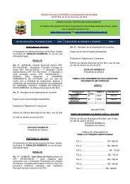 ÓRGÃO OFICIAL ELETRÔNICO DO MUNICÍPIO DE RIO BOM LEI ...