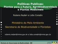 Projeto Pró-Bio/Plantas do Futuro