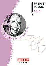 Llibre de poemes del premi Miquel Martí i - CCOO de Catalunya