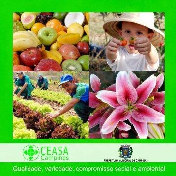Folder institucional - Ceasa Campinas