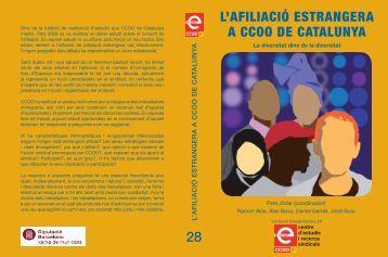 estudi 'L'afiliació estrangera a CCOO de Catalunya