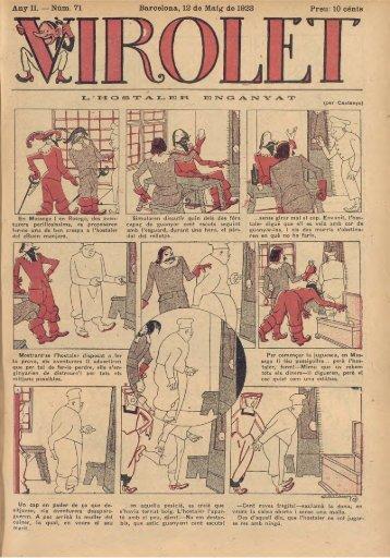 Any II. — Núm. 71 Barcelona, 12 de Maig de 1923 Preu: 10 cénts