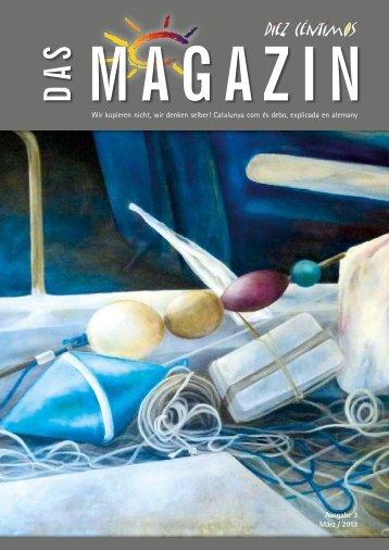 DAS MAGAZIN Ausgabe 03 2013 - Diez Centimos