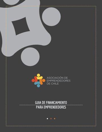 GUIA DE FINANCIAMIENTO PARA EMPRENDEDORES - Asech