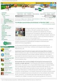 Tecnologias apresentadas pela Embrapa no Agrishow 2006