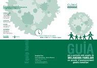 Tríptic de la Guia per a pacients - Hospital Clínic