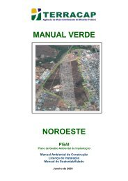 manual verde noroeste pgai - Terracap - Governo do Distrito Federal