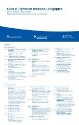Curs d'Urgències Médico-quirúrgiques - Hospital Universitari de ...