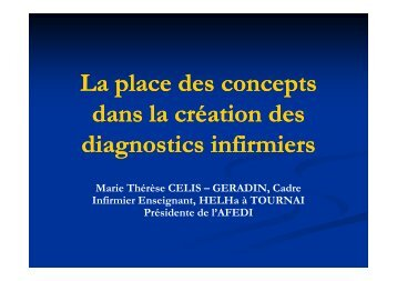 Concepts et diagnostic [Mode de compatibilité] - AFEDI