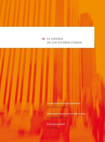 Caracterización del español patrimonial - Centro Virtual Cervantes