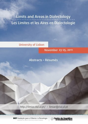 Limits and Areas in Dialectology - How spatial is dialect syntax ...