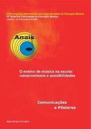 Anais do XVIII Congresso Nacional da ABEM - Londrina (PR)/2009