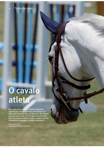 O cavalo atleta - Veterinária Actual