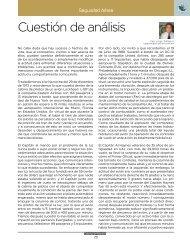 Cuestión de análisis - Colegio de pilotos de México