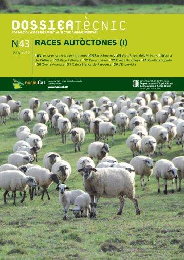 dossier - Races Domèstiques Autòctones de Catalunya - Universitat ...