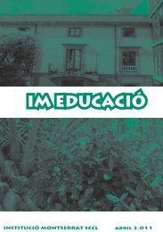 IM EDUCACIÓ - Montserrat