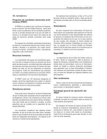 TOMO I FINAL.qxp - Consejo Estatal Electoral y de Participación ...
