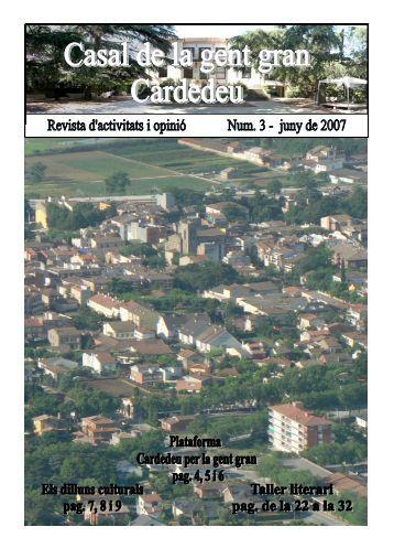 revista 3 color - Jubilats de Cardedeu