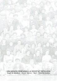 una mirada femenina a la societat ripollesa - Premis Universitat de Vic