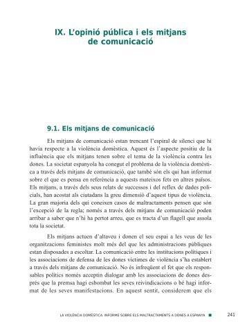"""IX. L'opinió pública i els mitjans de comunicació - Obra Social """"la ..."""