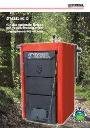 STREBEL NC-O für das optimale Heizen mit festen Brennstoffen
