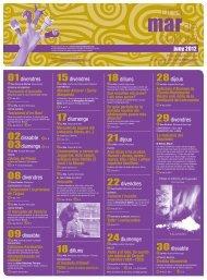 Programació cultural juny 2012 - Ajuntament de Santa Margalida