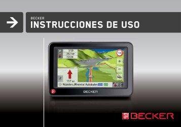 Instrucciones de uso - Becker