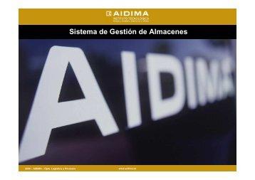 Sistema de Gestión de Almacenes - Aidima
