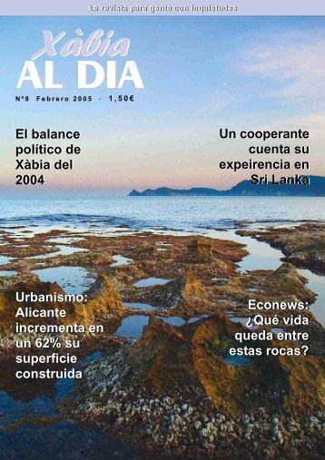 Urbanismo: Alicante incrementa en un 62% su ... - xabiaaldia.es