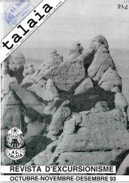 revista d'excursionisme - Biblioteca del Centre Excursionista de ...
