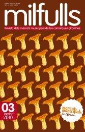 Tercer exemplar revista Milfulls - Diputació de Girona