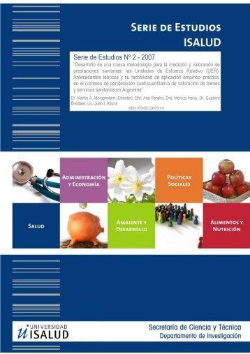 Serie de Estudios Nº 2 - 2007 - Universidad ISALUD