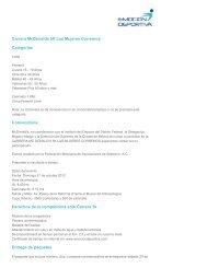 Convocatoria_5k femenil - Atletismo en México