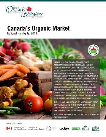 Canada's Organic Market